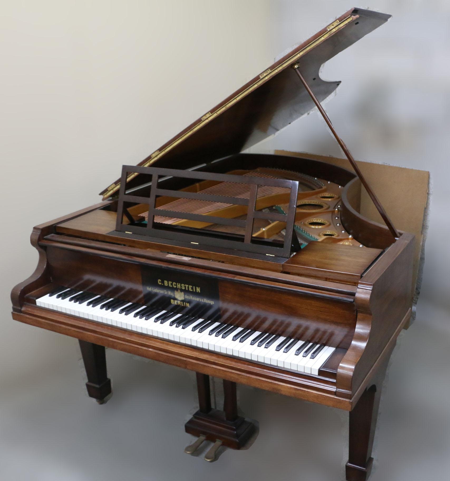 מודרניסטית פסנתר כנף יד 2 למכירה במצב מעולה של חברת בכשטיין   בני מילר ZE-29