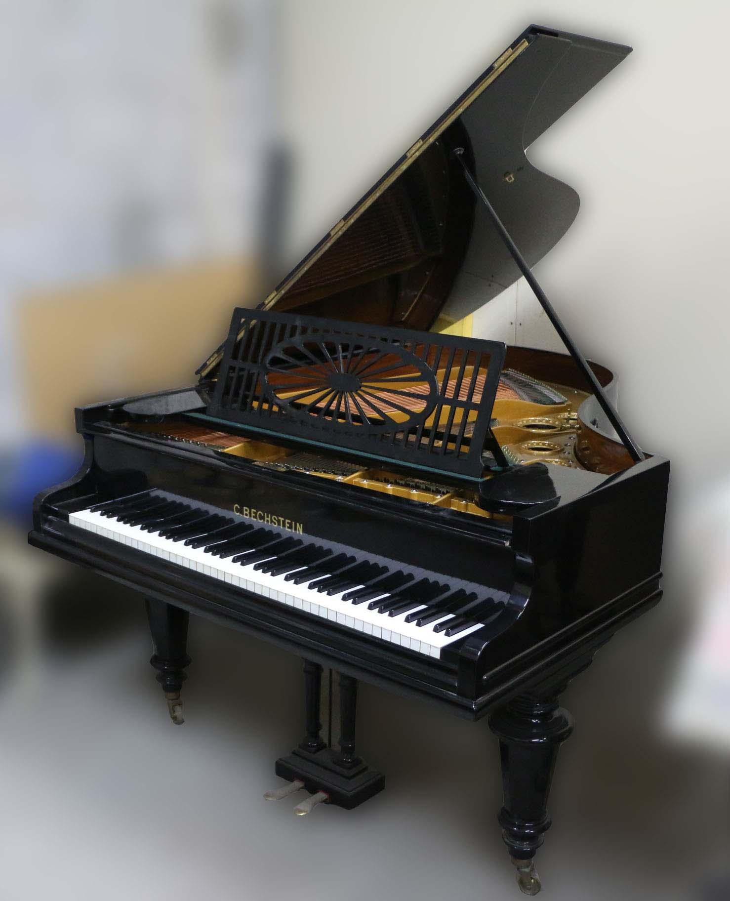מתוחכם למכירה פסנתר כנף יד שניה בצבע שחור מט ובאיכות מצויינת   בני מילר OE-54